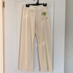NWT Juicy Couture sweat pants with sparkly labels